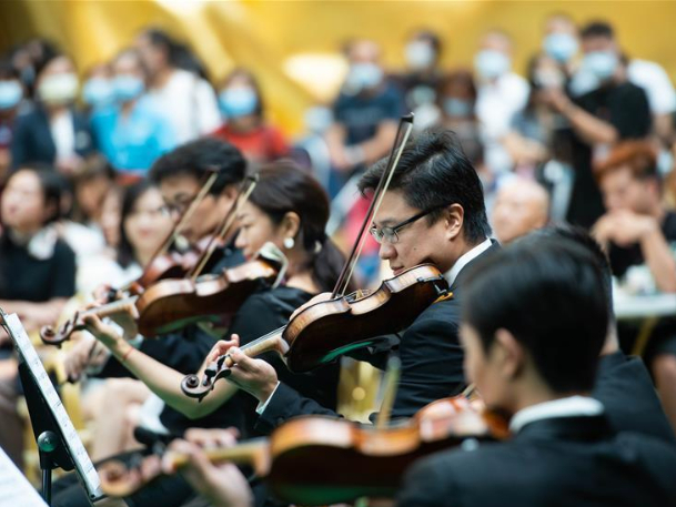 Macao Orchestra perform to commemorate 250th anniv. of birth of Ludwig van Beethoven