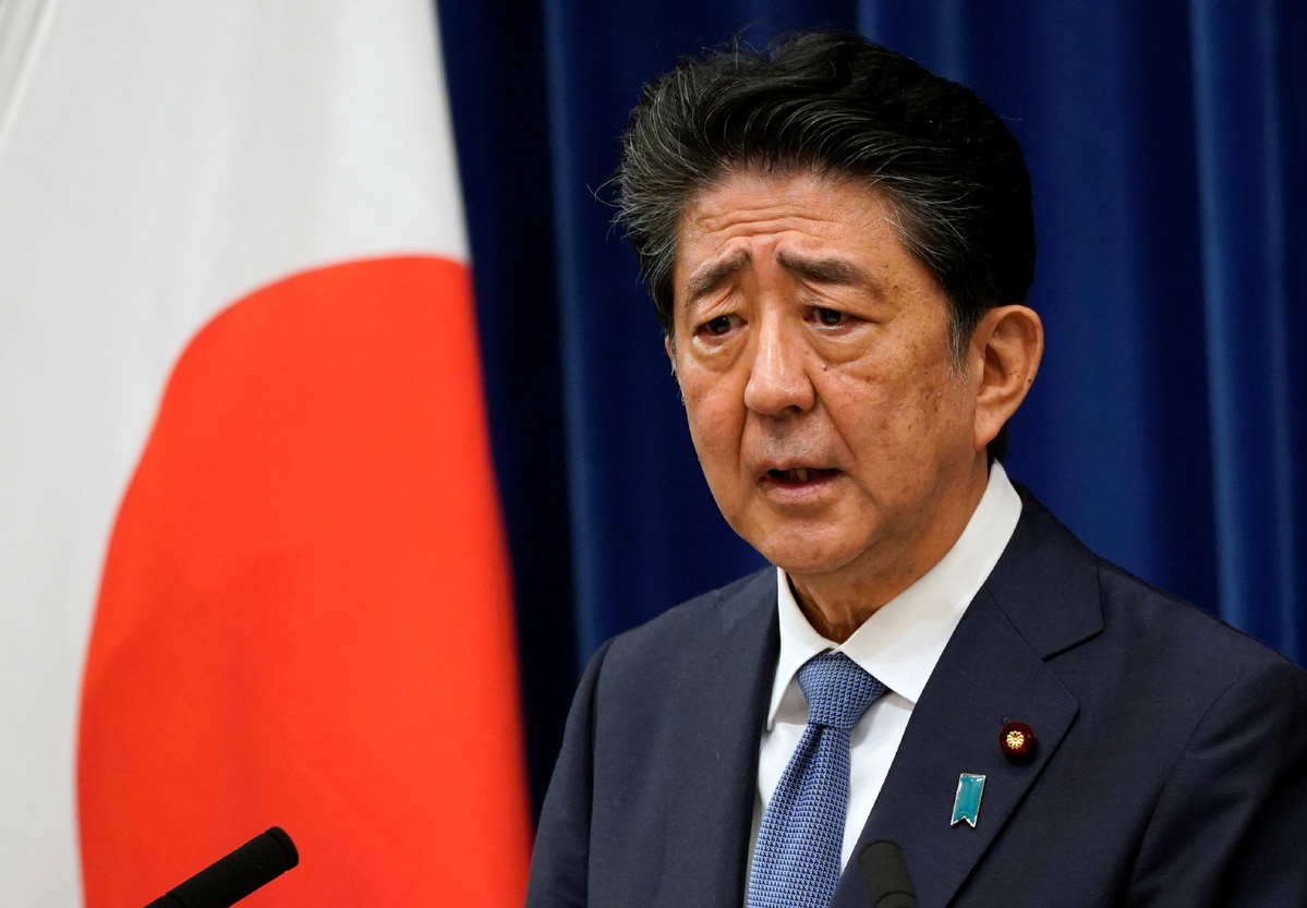 Abe's shock resignation presents uncertainties for Japan