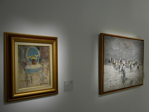 Paintings by Moroccan artists from 1909 to present day displayed at museum in Rabat