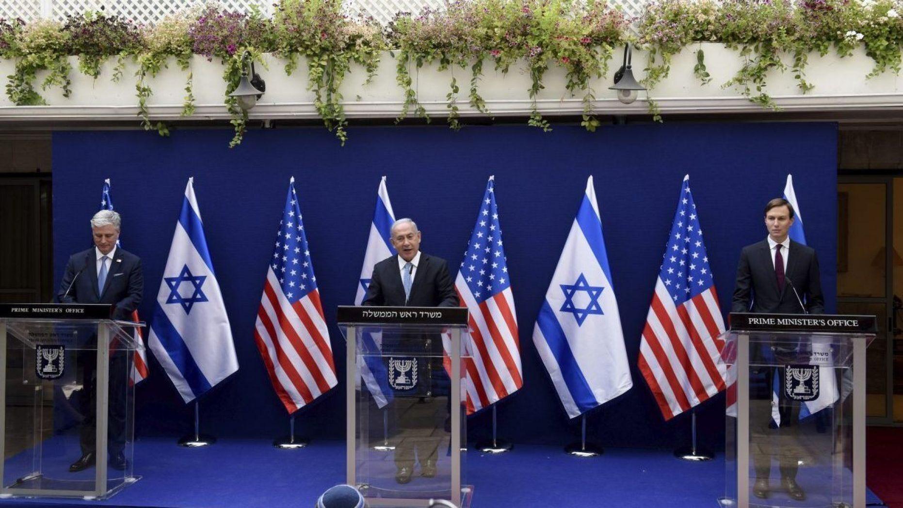 Netanyahu says Israel has secret talks with Arab, Muslim leaders