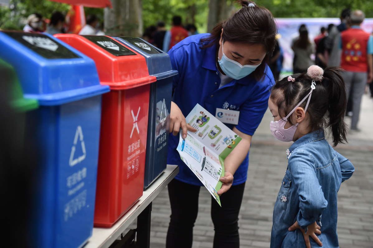 China to implement revised law on curbing solid waste pollution