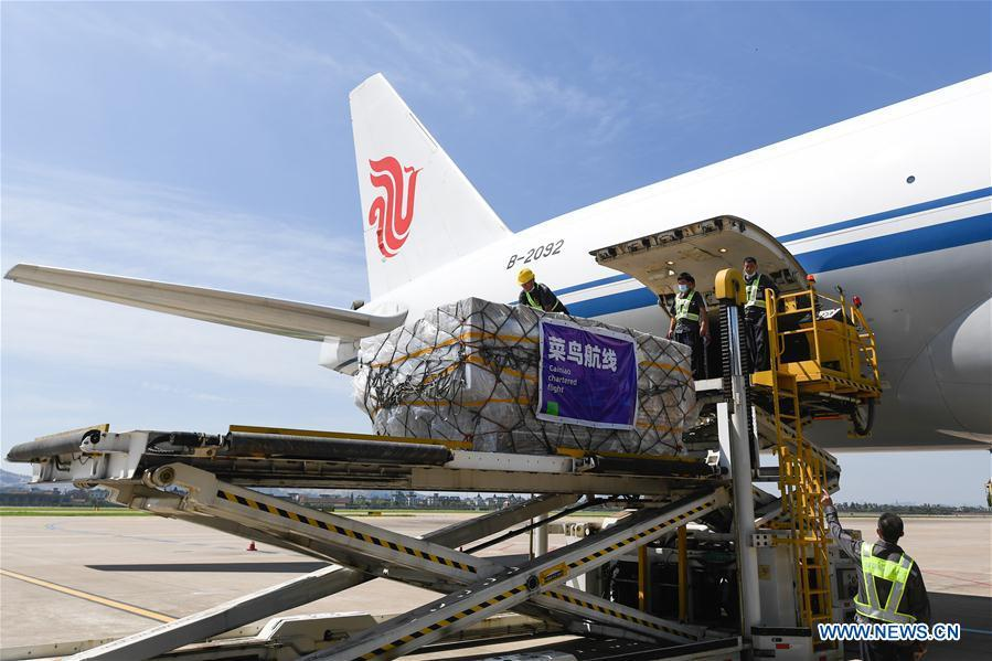 China witnesses uptick in air cargo as economic activity resumes
