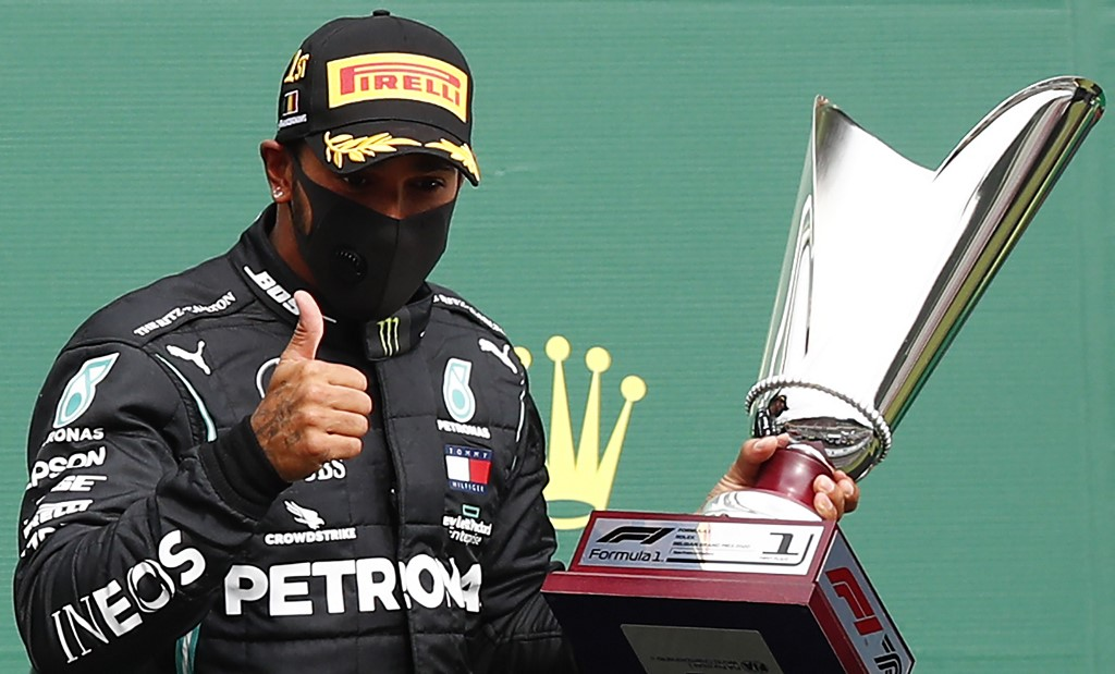 Hamilton wins Belgian Grand Prix, nears record
