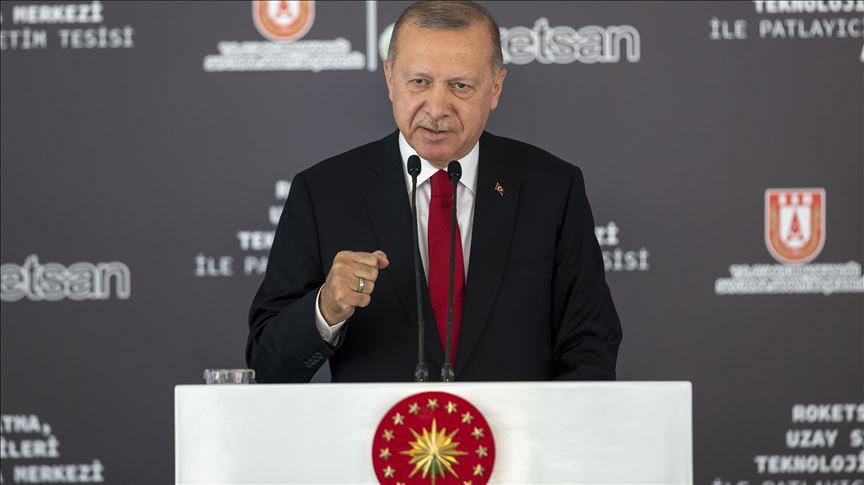 Turkey to start space trials of domestic rocket engines: president