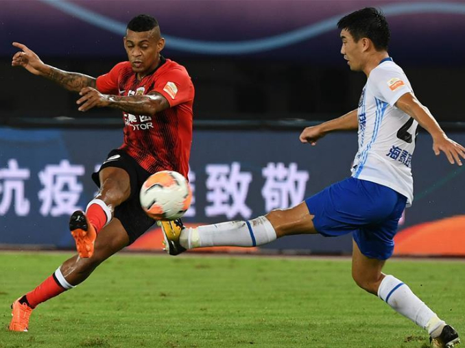 Shijiazhuang beat Hebei, Shanghai SIPG extend undefeated record in Chinese Super League