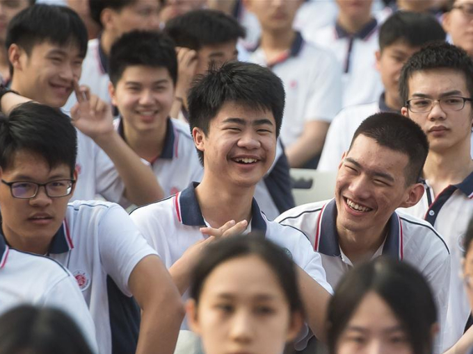 Wuhan High School opens for new semester