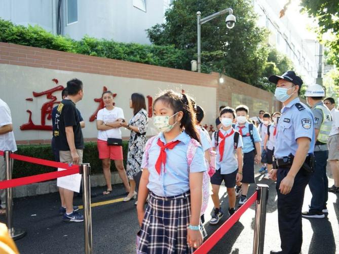 Autumn school semester begins in Shanghai