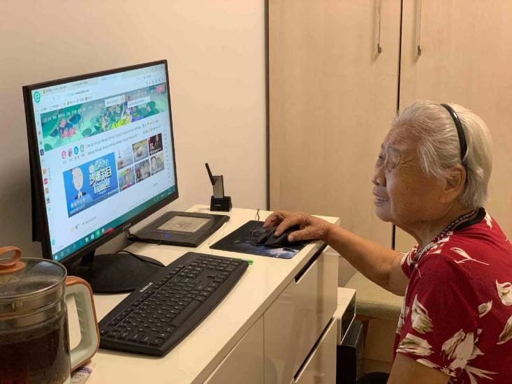 How 'Minci Bulao', 89, won the internet