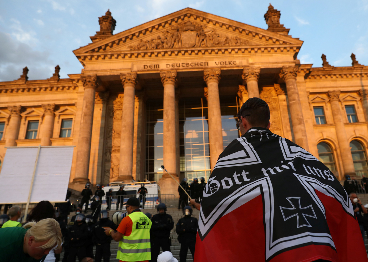 German leaders condemn attempt to storm Reichstag