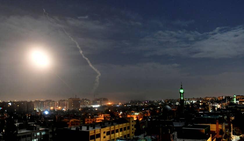 Israeli missile attack targets Syrian capital