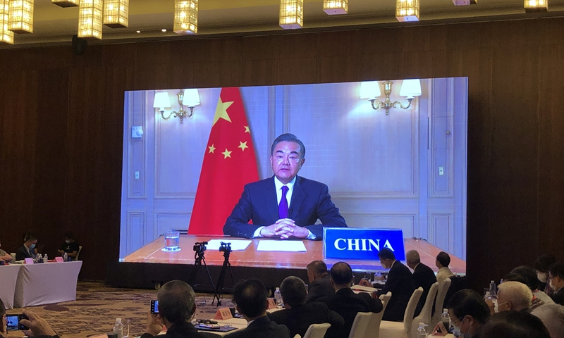 Chinese FM hails role of UN in upholding multilateralism