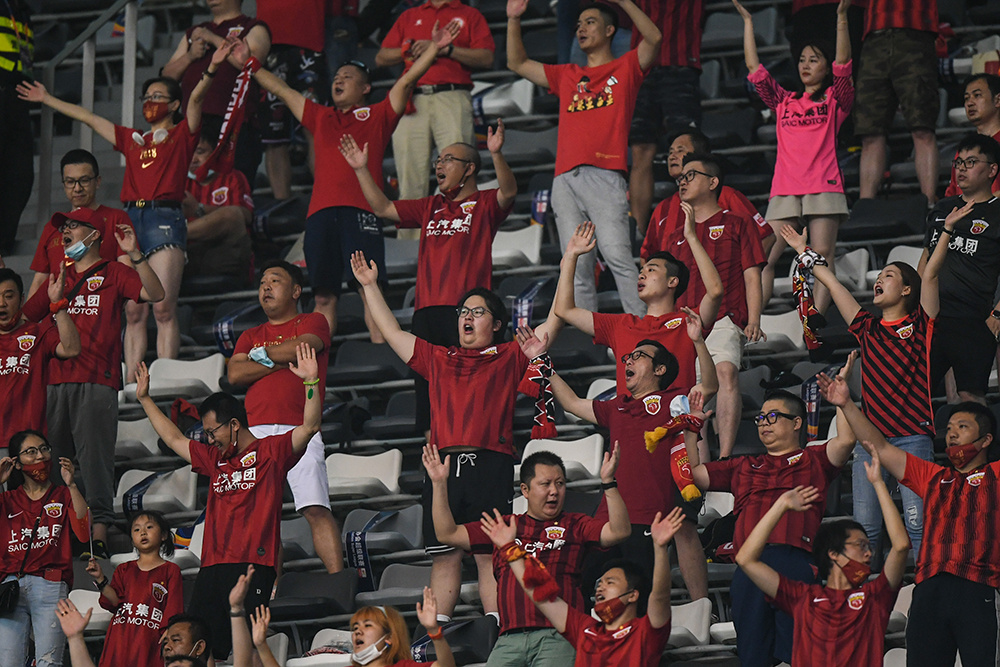 Chinese soccer scores crucial recovery goal