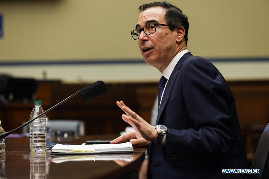 US Treasury Secretary Mnuchin testifies on Administration's response to economic crisis