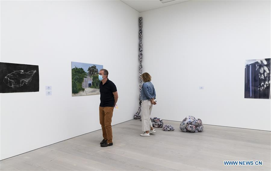 """Saatchi Gallery to reopen to public with """"London Grads Now"""""""