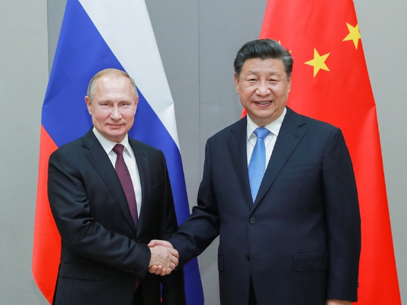 Xi says China ready to work with Russia to safeguard WWII results