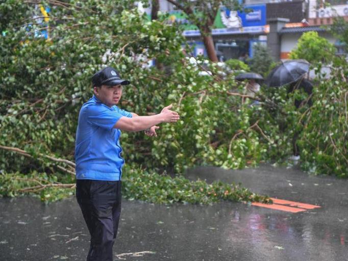 China renews blue alert for Typhoon Maysak, rainstorms