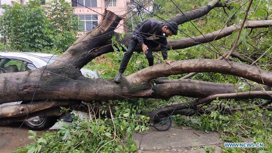 Heavy rainfall hits India