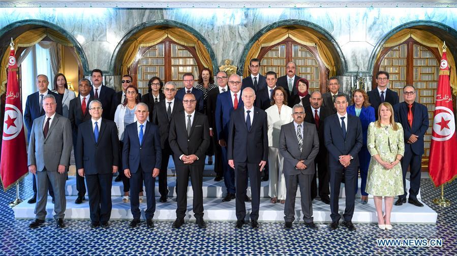 New members of Tunisian gov't take oath