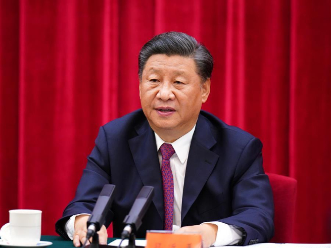 Xi stresses carrying forward great spirit of resisting aggression