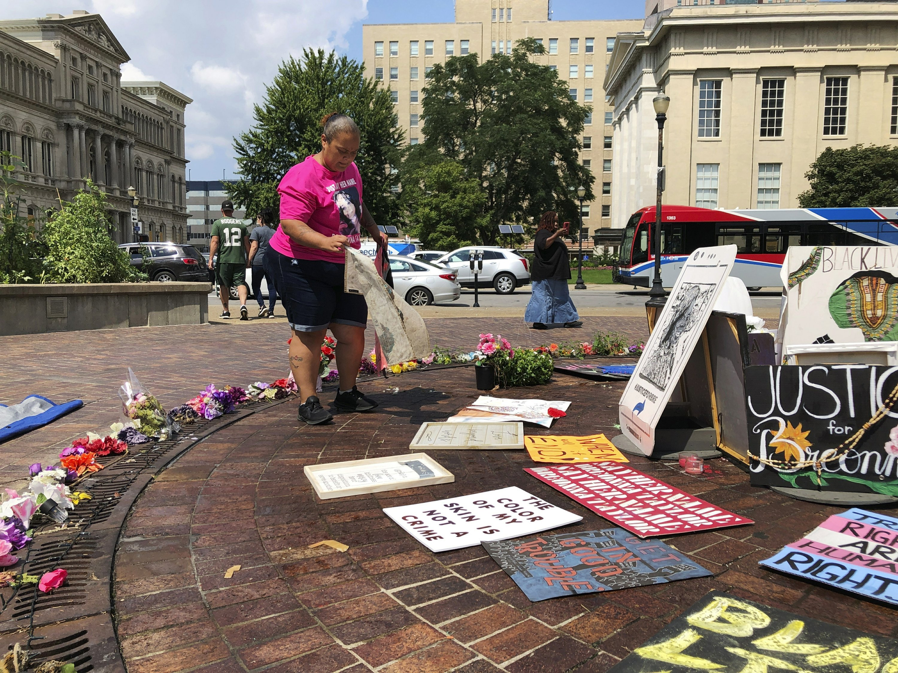 In Breonna Taylor's hometown, 90-day protest becomes family