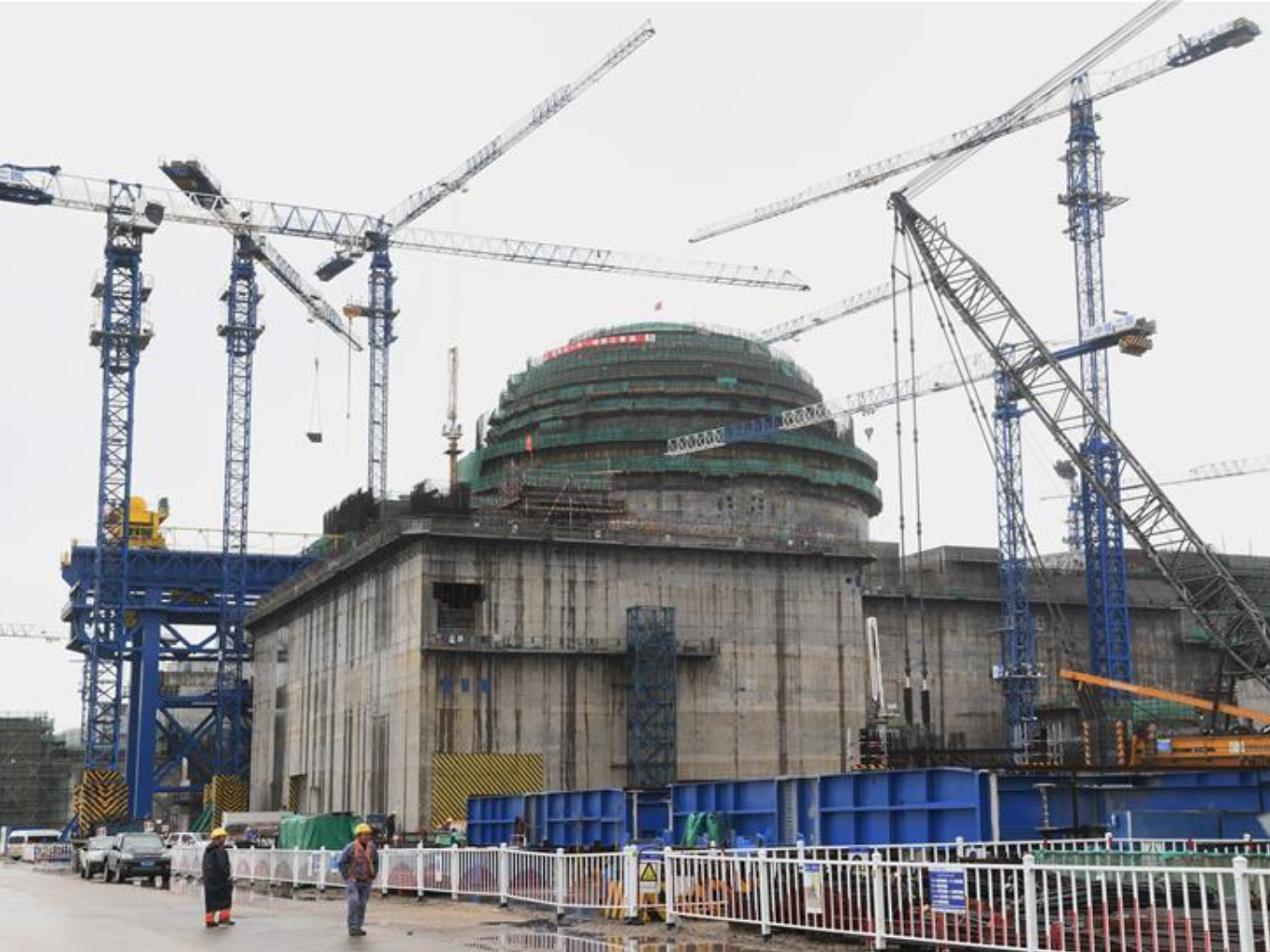 China loads fuel at first nuclear unit with home-grown reactor