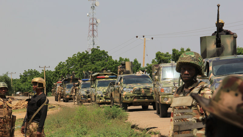 Gunmen kill 22 in central Nigeria: officials