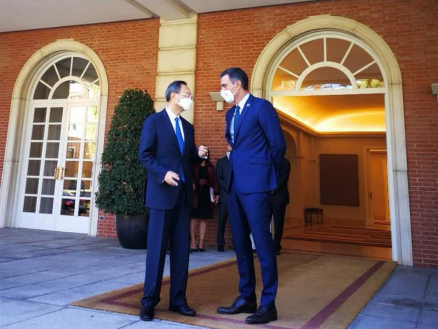 China, Spain vow to uphold multilateralism