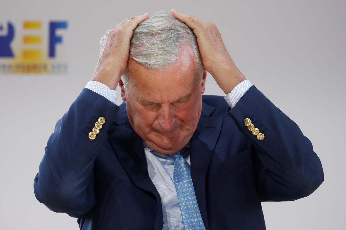 Barnier frets over no-deal Brexit