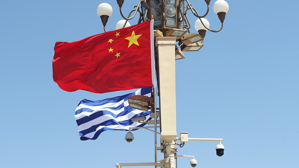 China, Greece pledge to further promote bilateral ties, cooperation