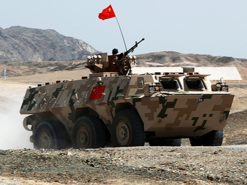 China ranks 2nd in tank biathlon competition in int'l army games
