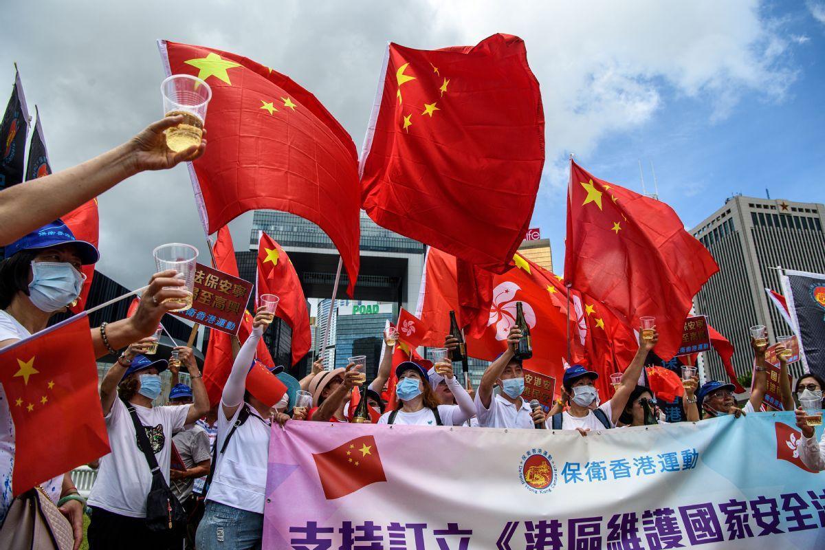 Zero tolerance for lawbreaking in Hong Kong