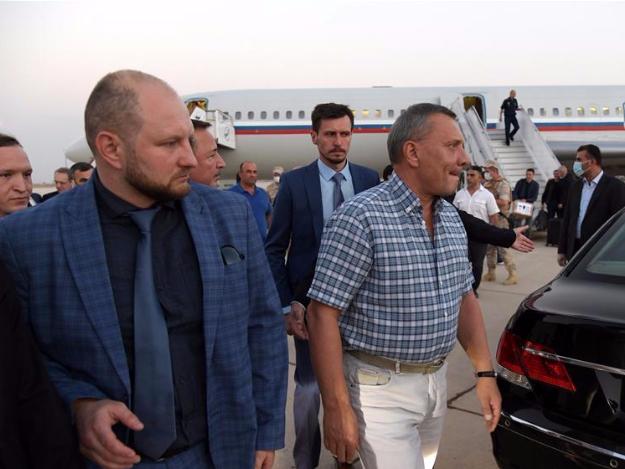 Senior Russian delegation arrives in Syrian capital for talks