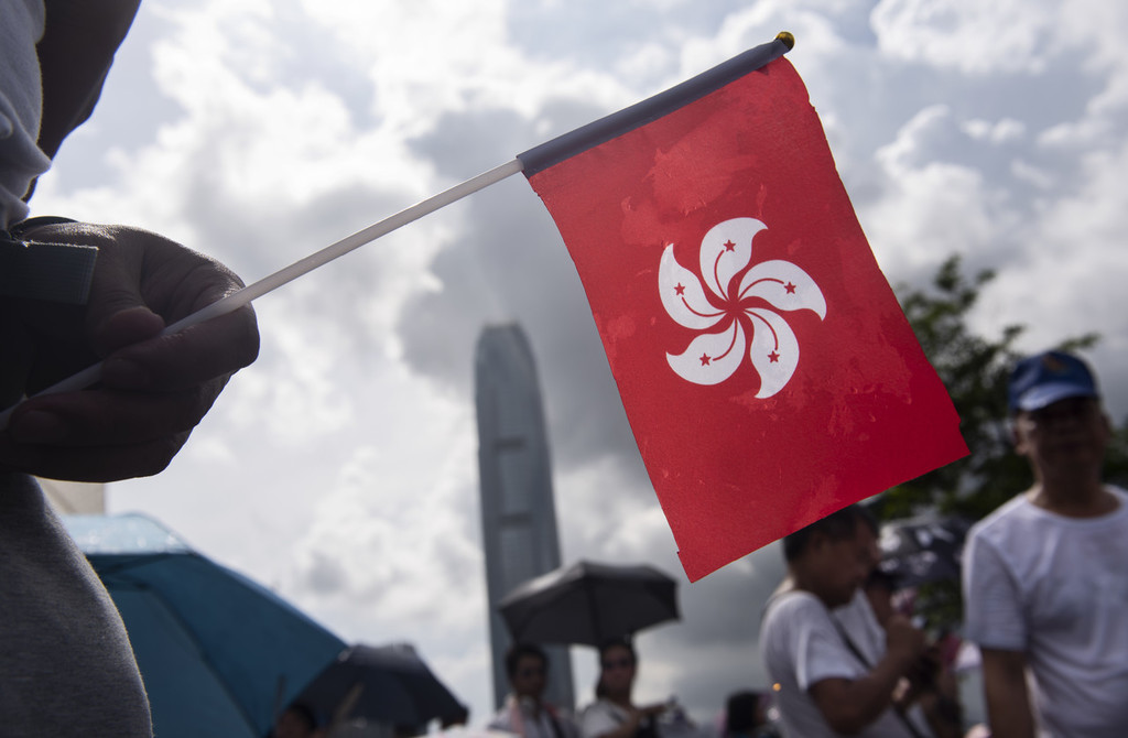 Liaison office of central gov't in HKSAR clarifies HK's political system as 'executive-led'