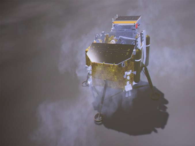 China's Chang'e-4 probe reveals landing site impact history on moon's far side