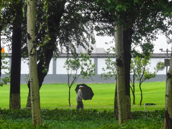 Typhoon Haishen affects China's Jilin