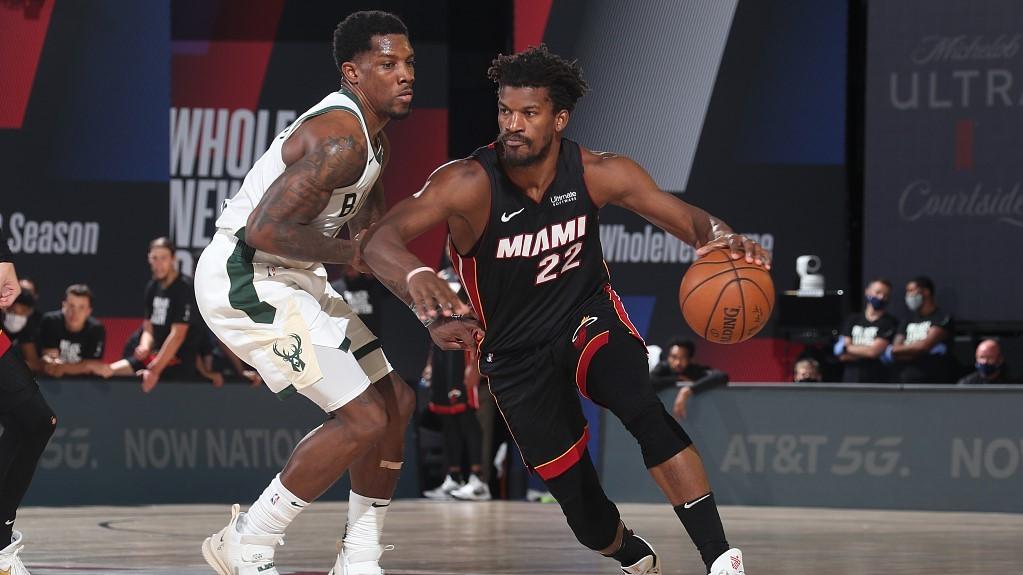 NBA highlights on Sep. 8: Heat eliminate Bucks for East Finals