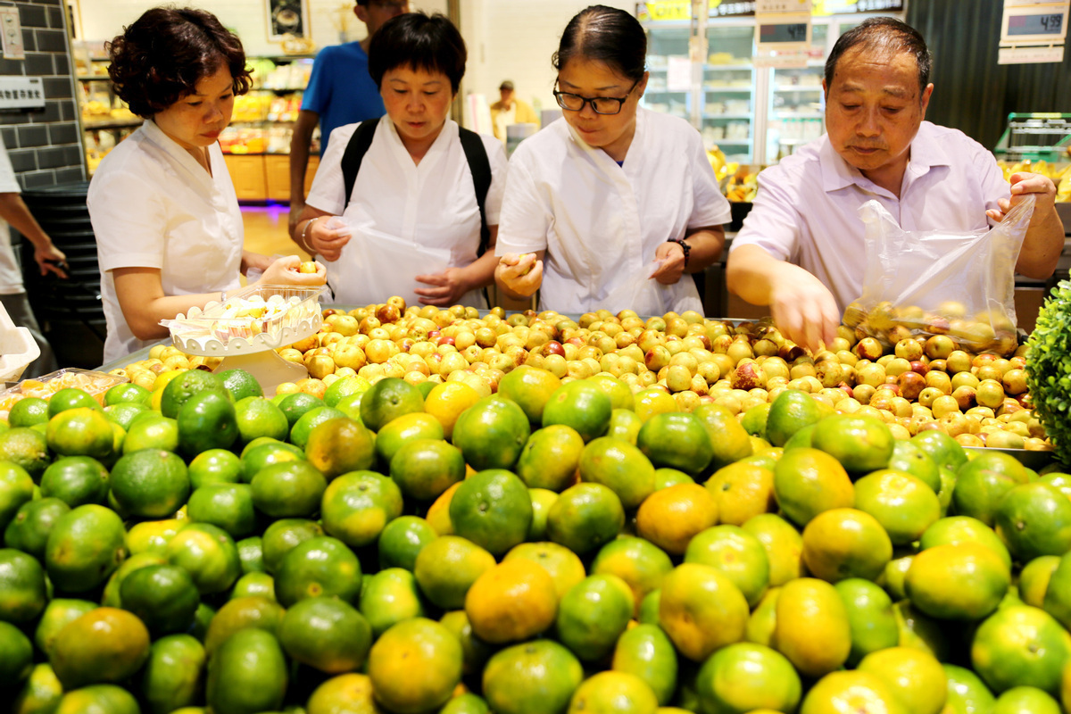 China's CPI up 2.4 pct in August