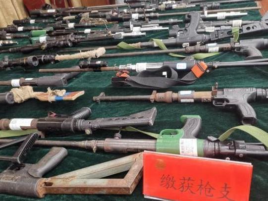 In Jiangsu, police shut down gun traffickers