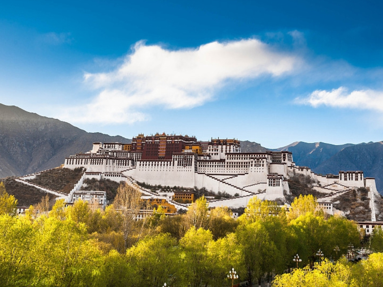 Infographics: Numbers behind Tibet's progress