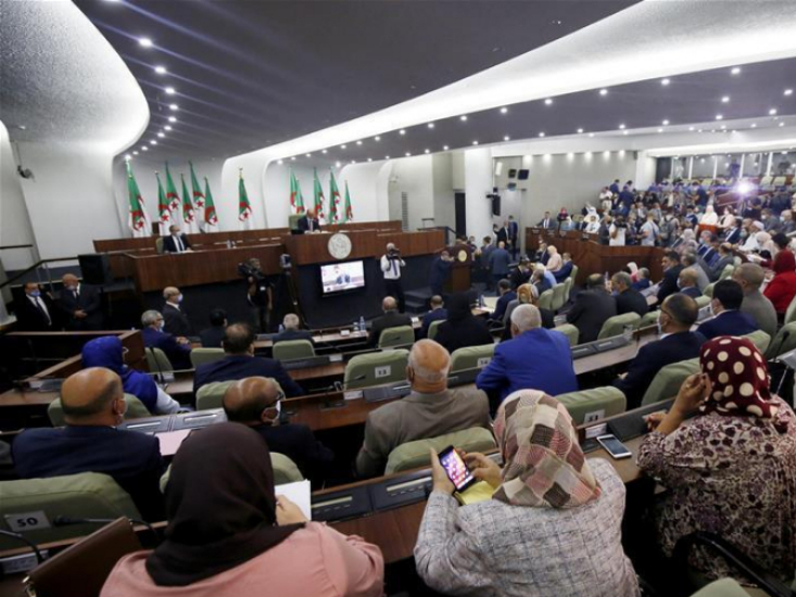 Algerian Lower House of Parliament adopts constitution draft
