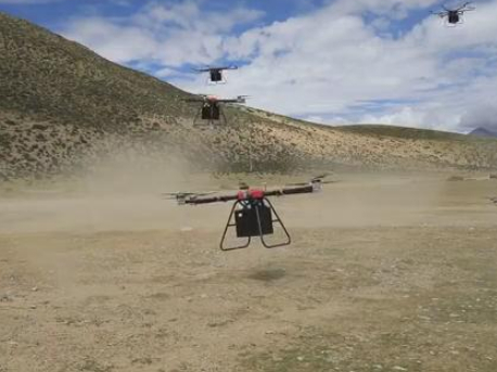 PLA Tibet military command adopts drones for logistics support in drills amid China-India border clash