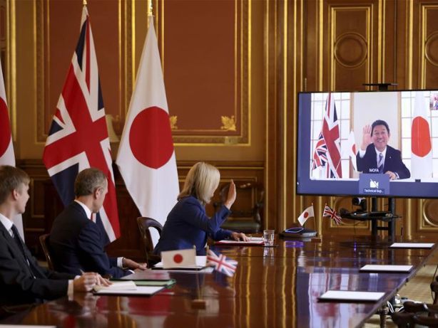 UK reaches first major post-Brexit free trade deal with Japan