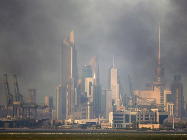 Fire erupts at Kuwait City's health zone