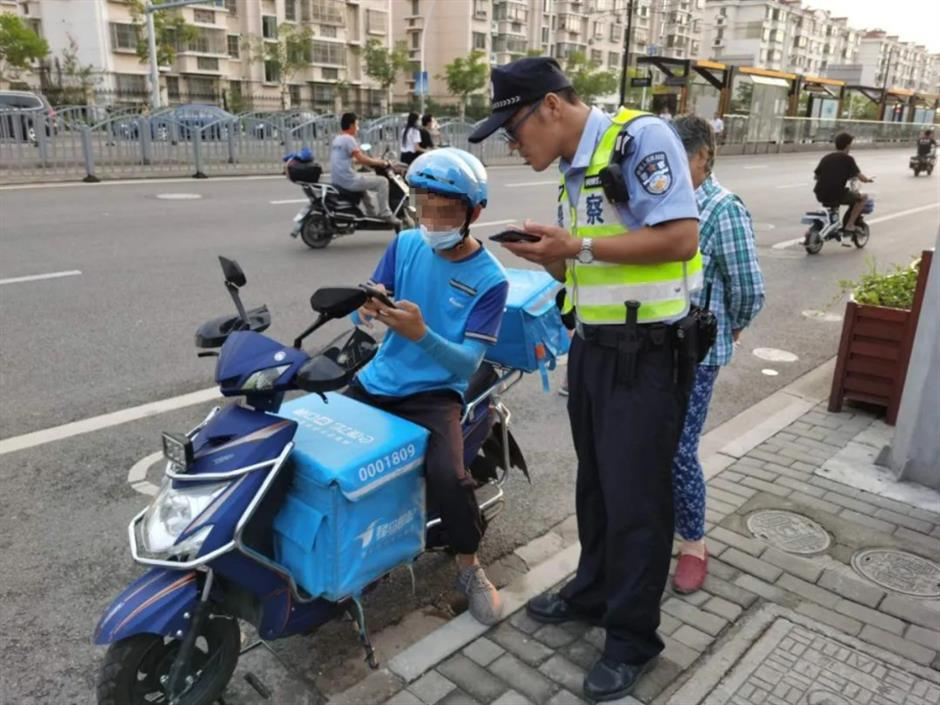 Errant delivery riders, companies, told 'on your bike'