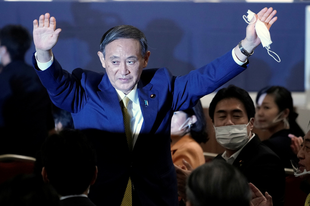 China congratulates Japan's newly elected head of ruling LDP