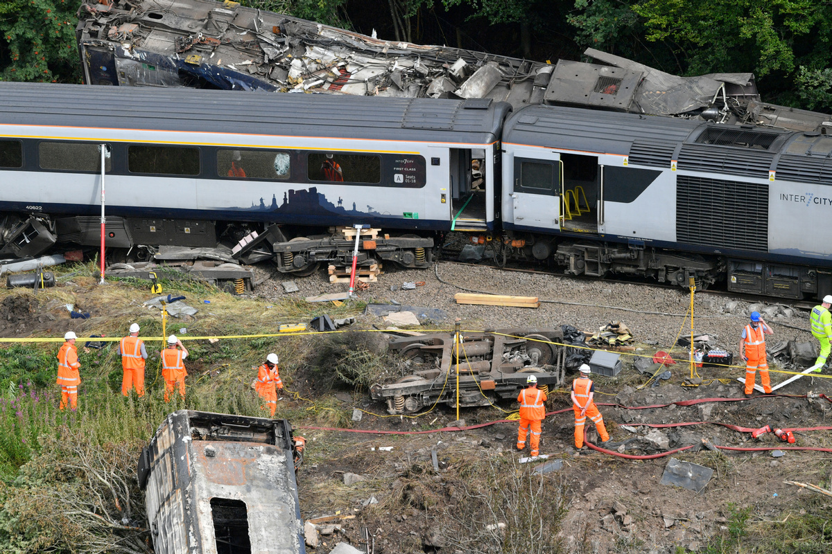 Climate change 'poses risk to rail safety'