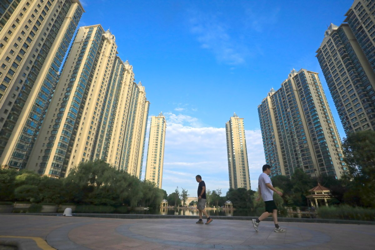 China's housing prices see slight month-on-month growth in August