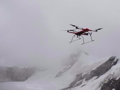 China's novel flying robot able to take scientific research to Qinghai-Tibet Plateau