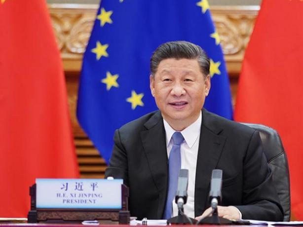 China, EU should adhere to four principles to promote ties: Xi