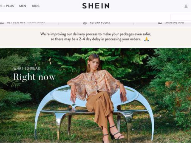 China's SHEIN website tops e-commerce fashion sales in Israel